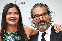 September 24, 2018 - New York, NY, USA - September 24, 2018  New York City..Jill Hennessy and Paolo Mastropietro attending Metropolitan Opera Opening Night at Lincoln Center on September 24, 2018 in New York City. (Credit Image: © Kristin Callahan/Ace Pictures via ZUMA Press)
