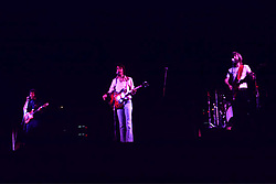 Jerry Garcia, Bob Weir & Phil Lesh. The Grateful Dead in Concert at the Springfield Civic Center on June 30, 1974. Performing with the Wall of Sound <br /> Contact Photographer for High Resolution File if purchasing Rights Managed Usage.