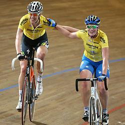 Ellen van Dijk en Kirsten Wild winnen het NK Koppelkoers voor Vrouwen voor Amy Pieters en Kelly Markus en het koppel Vera Koedooder en Winanda Spoor