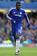 Kurt Zouma of Chelsea looks on. Barclays Premier league match, Chelsea v Everton at Stamford Bridge in London on Saturday 16th January 2016.<br /> pic by John Patrick Fletcher, Andrew Orchard sports photography.
