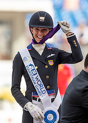 GRAVES Laura (USA)<br /> Tryon - FEI World Equestrian Games™ 2018<br /> Grand Prix Special Einzelentscheidung<br /> 14. September 2018<br /> © www.sportfotos-lafrentz.de/Stefan Lafrentz