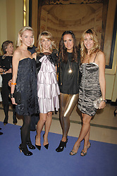 Left to right, NOELLE RENO, ASSIA WEBSTER, LOUISE ROE and MELISSA ODABASH at the 10th Anniversary Party of the Lavender Trust, Breast Cancer charity held at Claridge's, Brook Street, London on 1st May 2008.<br /><br />NON EXCLUSIVE - WORLD RIGHTS