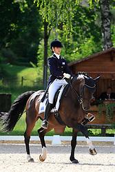 Stafilopati Fanoula (GRE) - Cassian 006<br /> FEI European Championship Juniors - Bern 2012<br /> © Hippo Foto - Leanjo de Koster