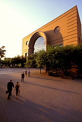 Stock photo of The Wortham Center in downtown Houston, Texas