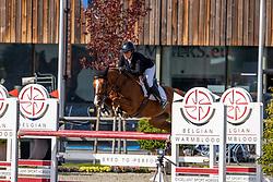 De Laet Caroline, BEL, Etna du Chateau<br /> Belgian Championship 6 years old horses<br /> SenTower Park - Opglabbeek 2020<br /> © Hippo Foto - Dirk Caremans<br />  13/09/2020