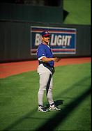 June 27th 1998 Kansas City, MO.Chicago Cubs pitcher Geremi Gonzalez before an interleague game at Kauffman Stadium.. Photo by Chris Machian