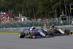 September 1, 2019, Spa-Francorchamps, Belgium: Motorsports: FIA Formula One World Championship 2019, Grand Prix of Belgium, ..#10 Pierre Gasly (FRA, Red Bull Toro Rosso Honda), #20 Kevin Magnussen (DEN, Rich Energy Haas F1 Team) (Credit Image: © Hoch Zwei via ZUMA Wire)