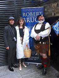 Edinburgh International Film Festival 2019<br /> <br /> Robert The Bruce (World Premiere) afterparty<br /> <br /> Pictured: Shane Coffey and his girlfriend, actress Gloria Cole<br /> <br /> Aimee Todd | Edinburgh Elite media
