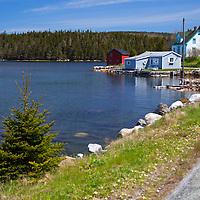 North America, Canada, Nova Scotia, Guysborough County. Waterfront road.
