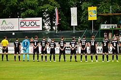 Team of NS Mura prior football match between NS Mura and NK Domzale in 3rd Round of Prva liga Telekom Slovenije 2018/19, on Avgust 05, 2018 in Mestni stadion Fazanerija, Murska Sobota, Slovenia. Photo by Mario Horvat / Sportida