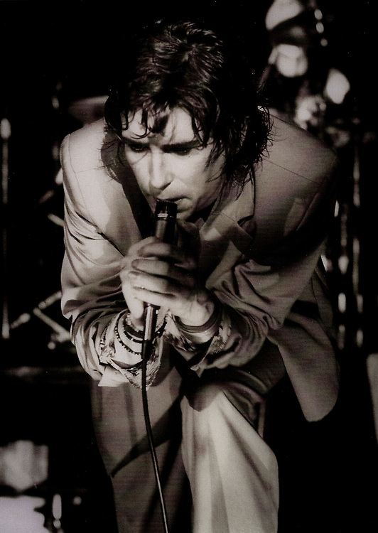 Richard Butler of the Psychedelic Furs, Tower Theater, Montrose area, mid 1980s, Houston, Texas