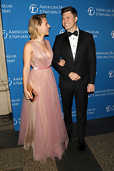 Scarlett Johansson and Colin Jost attend the American Museum of Natural History's 2018 Gala at the American Museum of Natural History in New York.
