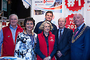 27/1/16 Minister Shane Ross at the Holiday World Show 2017 at the RDS Simmonscourt in Dublin which runs to Sunday 29th January.. Picture: Arthur Carron