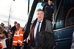 Everton manager Sam Allardyce arrives at The Hawthorns
