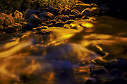 Gushing water in a stream - Long exposure