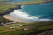 Whitesands Bay from Carn Llidi, St David's Head, Pembrokeshire, Wales