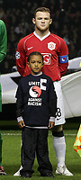 "Photo: Paul Thomas.<br /> Manchester United v FC Copenhagen. UEFA Champions League, Group F. 17/10/2006.<br /> <br /> Wayne Rooney, Man Utd ""stand in"" captain before the game."