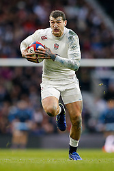 England Winger Jonny May in action - Photo mandatory by-line: Rogan Thomson/JMP - 07966 386802 - 14/02/2015 - SPORT - RUGBY UNION - London, England - Twickenham Stadium - England v Italy - 2015 RBS Six Nations Championship.