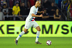 March 21, 2019 - Orlando, Florida, USA - US defender John Brooks (5) during an international friendly between the US and Ecuador at Orlando City Stadium on March 21, 2019 in Orlando, Florida. .The US won the game 1-0...©2019 Scott A. Miller. (Credit Image: © Scott A. Miller/ZUMA Wire)