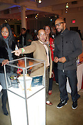 l to r: Nia Andrews, Derek Dudley and Common at the Common Celebration for the Capsule Line Launch with Softwear by Microsoft at Skylight Studios on December 3, 2008 in New York City..Microsoft celebrates the launch of a limited-edition capsule collection of SOFTWEAR by Microsoft graphic tees designed by Common. The t-shirt  designs. inspired by the 1980's when both Microsoft and and Hip Hop really came of age, include iconography that depicts shared principles of the technology company and the Hip Hop Star.
