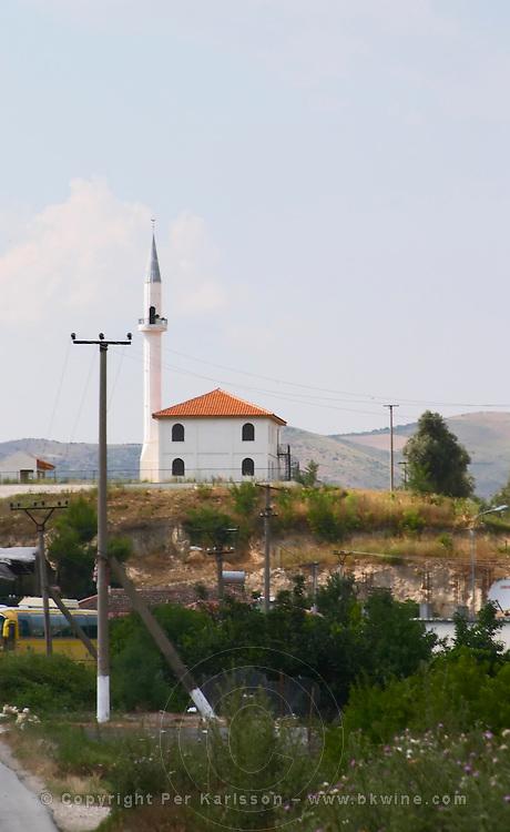A mosque in the village Poshnje Albania, Balkan, Europe.