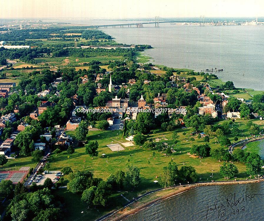 Aerial Photograph of Old New Castle, DE, 2003