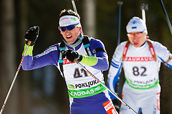Jakov Fak of Slovenia during the Men 20 km Individual of the e.on IBU Biathlon World Cup on Thursday, December 16, 2010 in Pokljuka, Slovenia. The fourth e.on IBU World Cup stage is taking place in Rudno Polje - Pokljuka, Slovenia until Sunday December 19, 2010.  (Photo By Vid Ponikvar / Sportida.com)