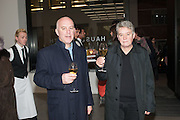 BELL AND LANGLANDS, Editor of Wallpaper: Tony Chambers and architect Annabelle Selldorf host drinks to celebrate the collaboration between the architect and three of Savile Row's finest: Hardy Amies, Spencer hart and Richard James. Hauser and Wirth Gallery. ( Current show Isa Genzken. ) savile Row. London. 9 January 2012.