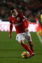January 20, 2018 - Lisbon, Portugal - Benfica's midfielder Franco Cervi in action   during Primeira Liga 2017/18 match between SL Benfica vs GD Chaves, in Lisbon, on January 20, 2018. (Credit Image: © Carlos Palma/NurPhoto via ZUMA Press)