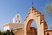 Three bells in a steeple at an Arizona Mission. Missoula Photographer