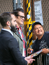 Johnny Knoxville is seen arriving at the 'Jimmy Kimmel Live' in Los Angeles, California. NON-EXCLUSIVE May 22, 2018. 22 May 2018 Pictured: Johnny Knoxville. Photo credit: BG017/Bauergriffin.com / MEGA TheMegaAgency.com +1 888 505 6342