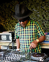 Norman Jay MBE  AT 'LONDON'S FIRST FESTIVAL THIS SUMMER KALEIDOSCOPE TAKES PLACE AT ALEXANDRA PALACE,PHOTO BY BRIAN JORDAN