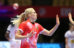 HERNING, DENMARK - DECEMBER 3, 2020: Vladlena Bobrovnikova of Russia during the EHF Euro 2020 Group C match between Russia and Spain in Jyske Bank Boxen, Herning, Denmark on December 3 2020. Photo Credit: Allan Jensen/EVENTMEDIA.