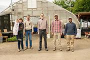 Ashli and Jeremy Mueller, Tom Denison and Inder and Tal Singh