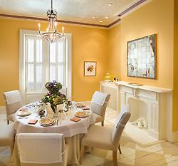 3238 O Street NW Washington, DC Design House Dining Room