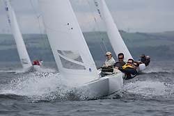 International Dragon Class Scottish Championships 2015.<br /> <br /> Day 1 racing in perfect conditions.<br /> <br /> GBR 720, Aimee<br /> <br /> <br /> Credit Marc Turner