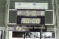 Fotball , 09 august 2009<br /> Norgesmesterskapt fotball NM<br /> Molde - Rosenborg bk 5-0<br /> <br /> Stadion ur   5-0 90 minutt<br /> <br /> Foto: Richard Brevik , Digitalsport
