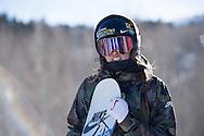 Spencer O'Brien during Women's Slopestyle Practice during 2015 X Games Aspen at Buttermilk Mountain in Aspen, CO. ©Brett Wilhelm/ESPN