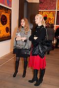 EVITA ABLOGINA; ELENA ANDERSON, Yayoi Kusama opening. Tate Modern. London. 7 February 2012