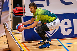 Tijmen Laane of Orion in action during the semi cupfinal between Active Living Orion vs. Amysoft Lycurgus on April 03, 2021 in Saza Topsportshall Doetinchem