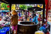 Oct. 2020, Hoi an, Central Market Area: This well is outside of the Central Market Building and in front of many local produce sellers, or street food vendors. RAW to Jpg