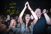 NO FEE PICTURES<br /> 31/12/15 Partygoers enjoying the NYF 3Arena Celebrations, part of the New Years Festival in Dublin. nyf.com running from 30th Dec to 1st Jan in Dublin. Picture: Arthur Carron