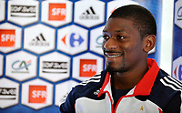 Fotball<br /> Frankrike<br /> Foto: DPPI/Digitalsport<br /> NORWAY ONLY<br /> <br /> FOOTBALL - MISCS 2009/2010 - FRANCE TRAINING - 1/09/2009<br /> <br /> ABOU DIABY DURING THE PRESS CONFERENCE