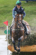 Mister Maccondy ridden by Polly Stockton in the Equi-Trek CCI-L4* Cross Country during the Bramham International Horse Trials 2019 at Bramham Park, Bramham, United Kingdom on 8 June 2019.