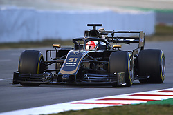 February 19, 2019 - Barcelona, Barcelona, Spain - Pietro Fittipaldi of Brasil driving the (51) Rich Energy Haas F1 Team VF-19 during day two of F1 Winter Testing at Circuit de Catalunya on February 19, 2019 in Montmelo, Spain. (Credit Image: © Jose Breton/NurPhoto via ZUMA Press)