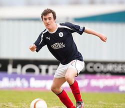 Falkirk's Thomas Grant . Falkirk 1 v 0 Dunfermline, 16/2/2013..©Michael Schofield.