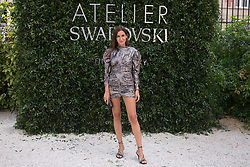 Gala Gonzalez attends the Atelier Swarovski - Cocktail Of The New Penelope Cruz Fine Jewelry Collection during Paris Haute Couture Fall Winter 2018/2019 in Paris, France on July 02, 2018. Photo by Nasser Berzane/ABACAPRESS.COM