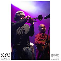 Ozomatli perform at WOMAD music festival in New Plymouth, Taranaki New Zealand.