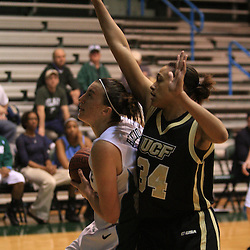 21 February 2009 during a women's NCAA basketball game between UCF and Tulane at Fogelman Arena on the campus of Tulane University in New Orleans, LA.