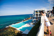 The world famous Bondi Icebergs Club is located above the Bondi Baths swimming pool at the south end of Bondi Beach, New South Wales, Australia. Famous for their Winter swimming, the Icebergs was founded in 1929 by a group of commited local lifesavers, and has since grown to become an Aussie icon